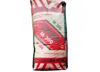 Смесь сухая цементно-песчаная М-300 (пескобетон) 25кг