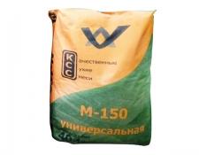 Смесь сухая цементно-песчаная М-150 (универсальная) 40кг