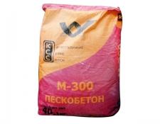 Смесь сухая цементно-песчаная М-300 (пескобетон) 40кг